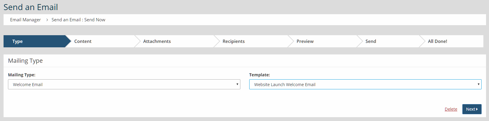 Communications-HowTo-Send Welcome Email To A Mix Of Verified Members - Welcome Email Template